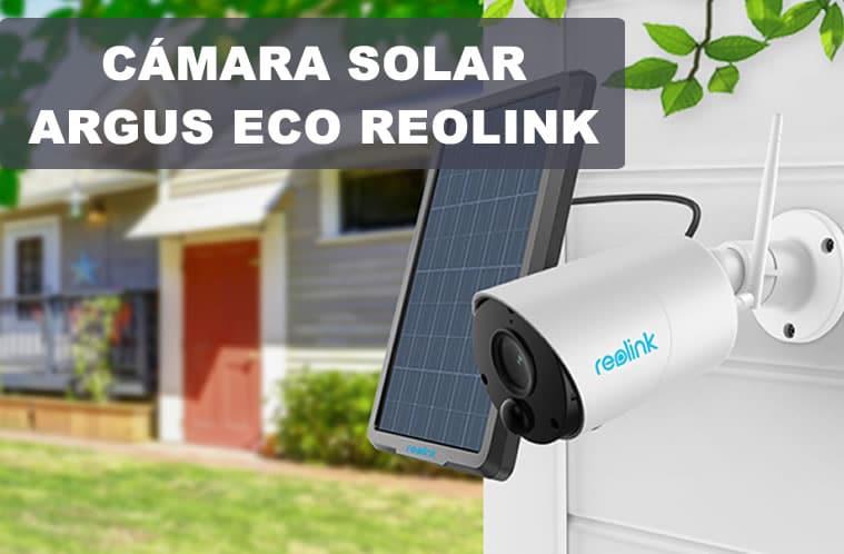 camara solar reolink