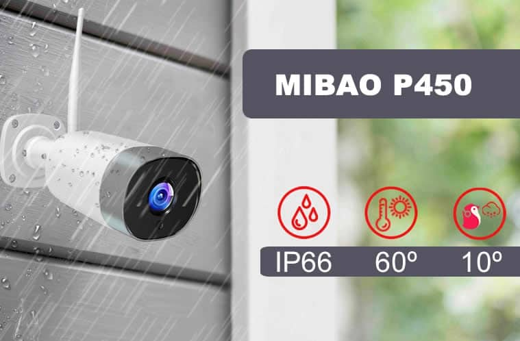 camara mibao p450