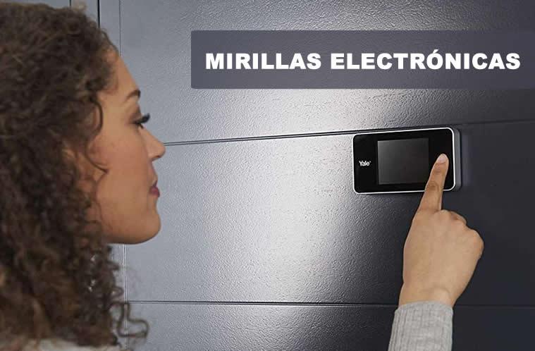 mirilla electronica
