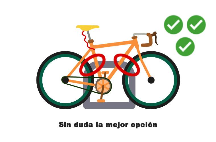 atar bici para que no la roben