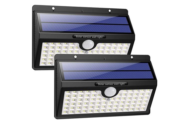 lampara solar led sensor movimiento